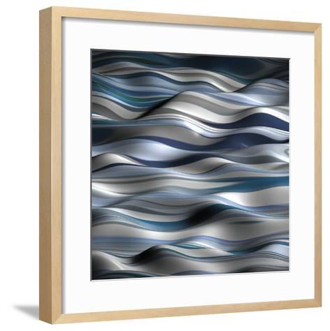 Undulation 1A-J^P^ Clive-Framed Art Print