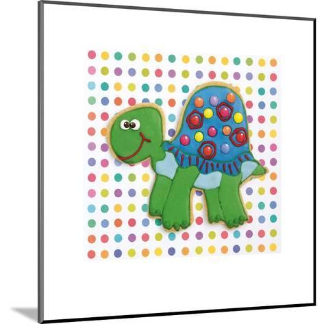 Trundling Tortoise-Shooter & Floodgate-Mounted Art Print