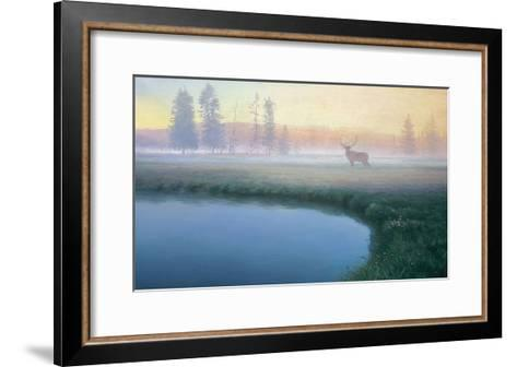 Yellowstone Mist-Adriano Manocchia-Framed Art Print
