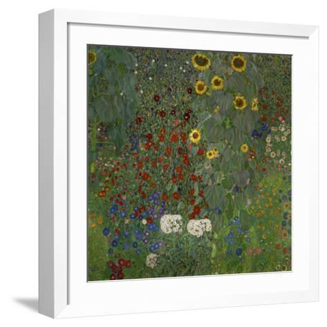 Garden/Sunflowers--Framed Art Print