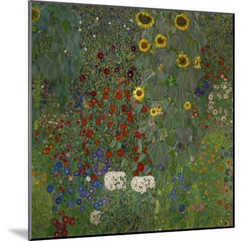 Garden/Sunflowers--Mounted Art Print