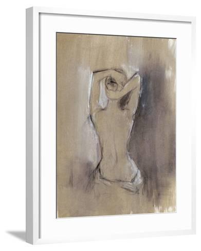 Contemporary Draped Figure I-Ethan Harper-Framed Art Print