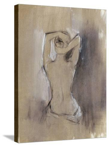 Contemporary Draped Figure I-Ethan Harper-Stretched Canvas Print