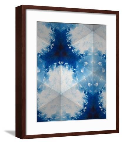 Sapphire Frost IV-Renee W^ Stramel-Framed Art Print