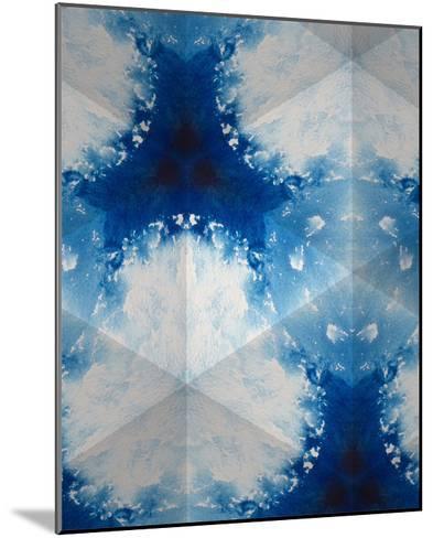 Sapphire Frost IV-Renee W^ Stramel-Mounted Art Print