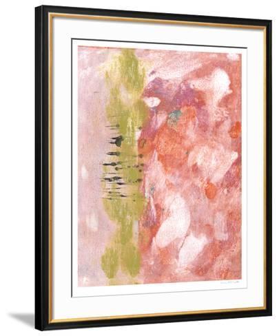 Rosy Composition II-Naomi McCavitt-Framed Art Print