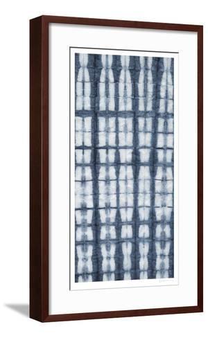 Shibori III-Chariklia Zarris-Framed Art Print