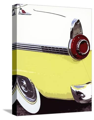 Tail Fins And Two Tones VI--Stretched Canvas Print