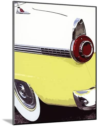 Tail Fins And Two Tones VI--Mounted Art Print