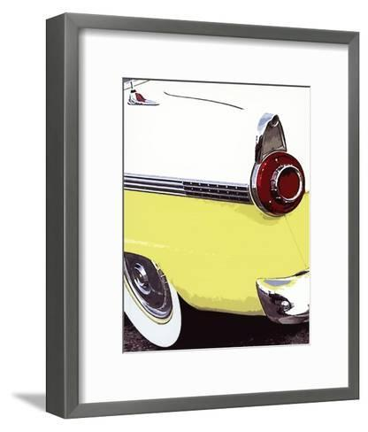 Tail Fins And Two Tones VI--Framed Art Print