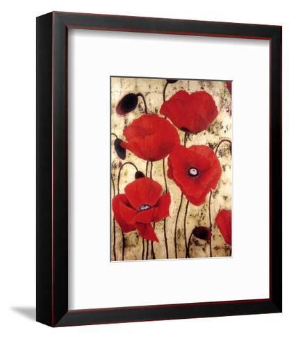 Poppies I-Dana Del Castillo-Framed Art Print