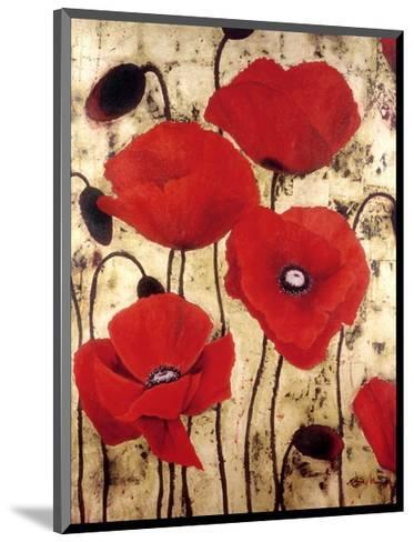 Poppies I-Dana Del Castillo-Mounted Art Print