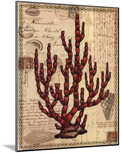 Red Coral III-Studio Voltaire-Mounted Art Print