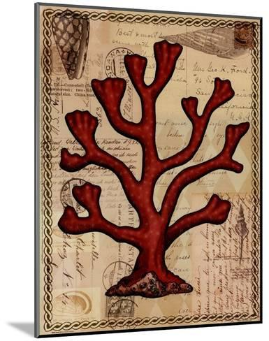 Red Coral IV-Studio Voltaire-Mounted Art Print