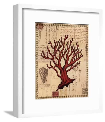 Red Coral I-Studio Voltaire-Framed Art Print