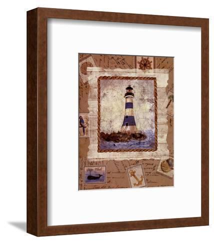 Ship To Shore IV-Lisa Ven Verloth-Framed Art Print