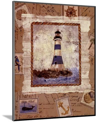 Ship To Shore IV-Lisa Ven Verloth-Mounted Art Print