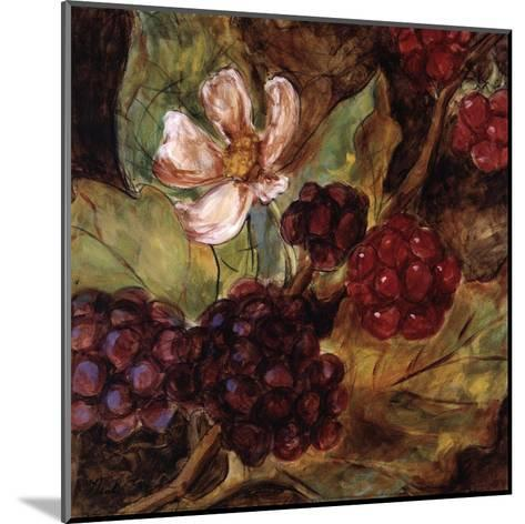 Red Berries And Blossom-Nicole Etienne-Mounted Art Print