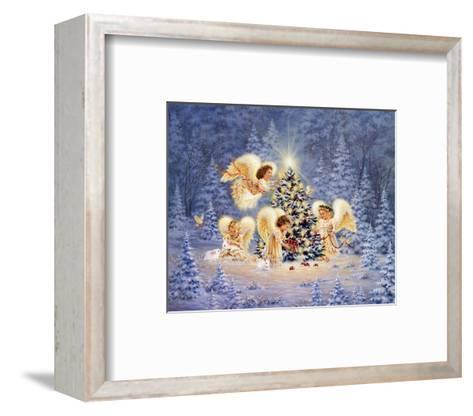 Silent Night, Gentle Light-Dona Gelsinger-Framed Art Print