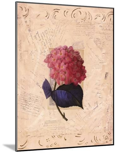Garden Botanical ll-Jan Weiss-Mounted Art Print