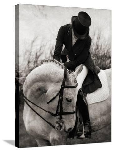 Dressage - The Transition-Pete Kelly-Stretched Canvas Print