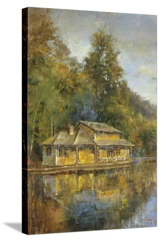 Lake House-Longo-Stretched Canvas Print