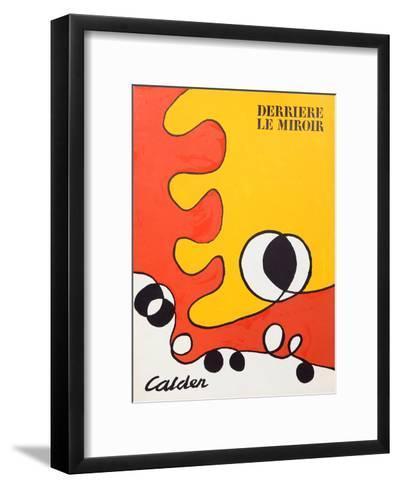 Abstract (Cover) from Derriere Le Miroir-Alexander Calder-Framed Art Print