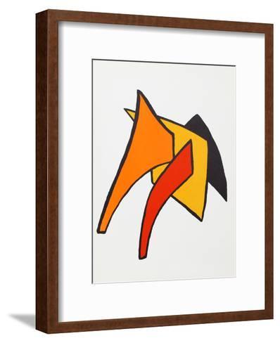 Stabiles VI from Derriere Le Miroir-Alexander Calder-Framed Art Print