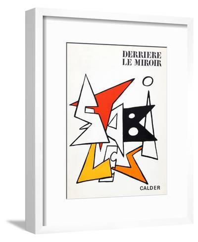 Stabiles I (Cover) from Derriere Le Miroir-Alexander Calder-Framed Art Print