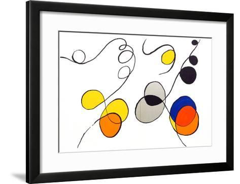 from Derrier le Miroir-Alexander Calder-Framed Art Print