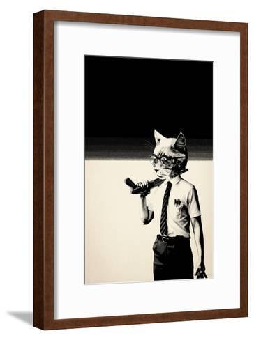 Falling Down-Hidden Moves-Framed Art Print