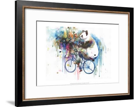 Creator of the Universe-Lora Zombie-Framed Art Print