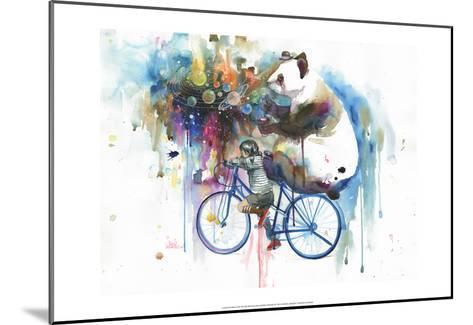 Creator of the Universe-Lora Zombie-Mounted Art Print