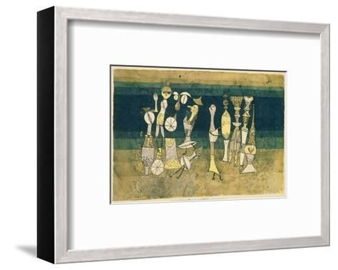 Comedy, 1921-Paul Klee-Framed Art Print