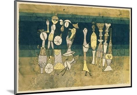 Comedy, 1921-Paul Klee-Mounted Art Print