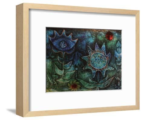 Flowers in the Night (1930)-Paul Klee-Framed Art Print