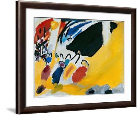 Impression lll (1911)-Wassily Kandinsky-Framed Art Print