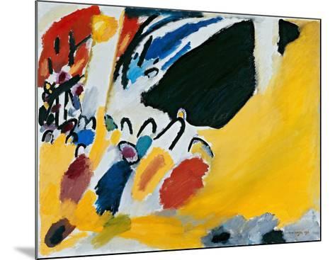 Impression lll (1911)-Wassily Kandinsky-Mounted Art Print