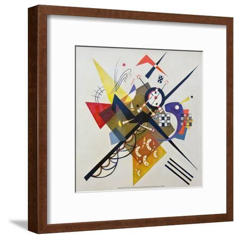 On White ll, 1923-Wassily Kandinsky-Framed Art Print