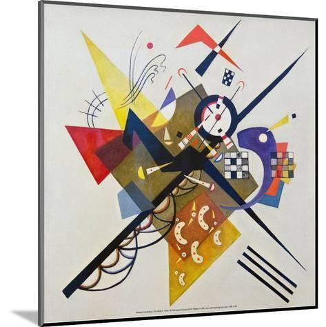 On White ll, 1923-Wassily Kandinsky-Mounted Art Print