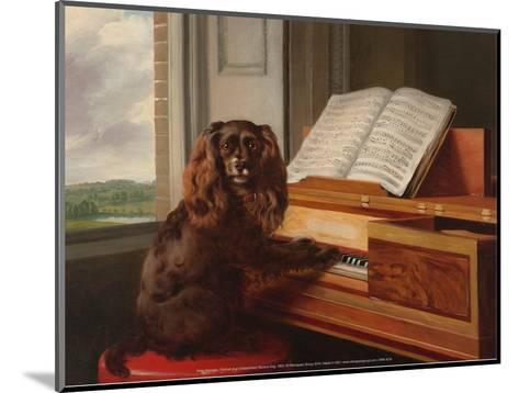 Portrait of an Extraordinary Musical Dog, 1805-Philip Reinagle-Mounted Art Print