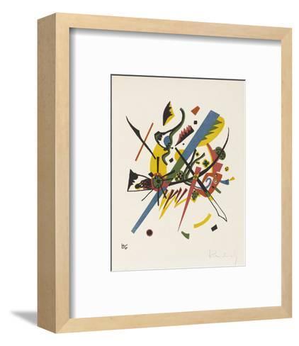 Small Worlds (1922)-Wassily Kandinsky-Framed Art Print