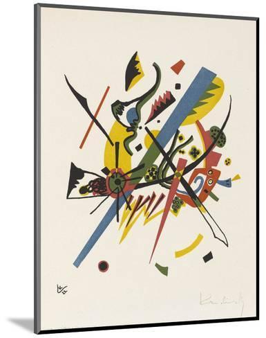 Small Worlds (1922)-Wassily Kandinsky-Mounted Art Print