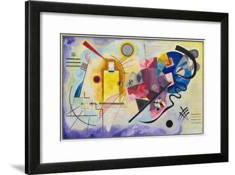 Yellow-Red-Blue (1925)-Wassily Kandinsky-Framed Art Print