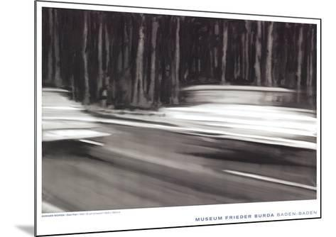 Two Fiat-Gerhard Richter-Mounted Art Print