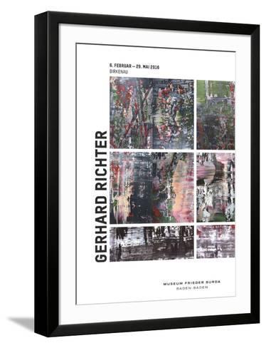 Birkenau-Gerhard Richter-Framed Art Print