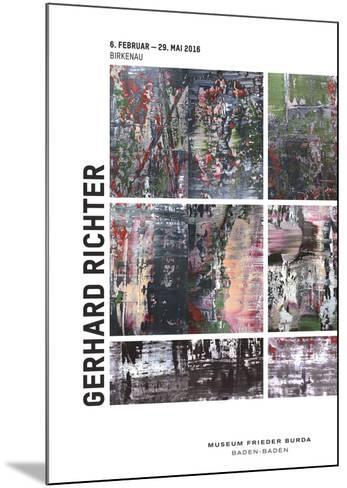 Birkenau-Gerhard Richter-Mounted Art Print