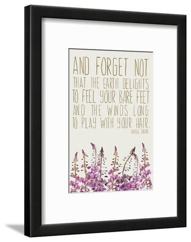 Forget Not-Anahata Katkin-Framed Art Print
