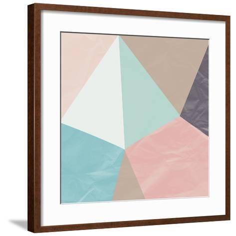 Geo Abstract I-Philip Brown-Framed Art Print