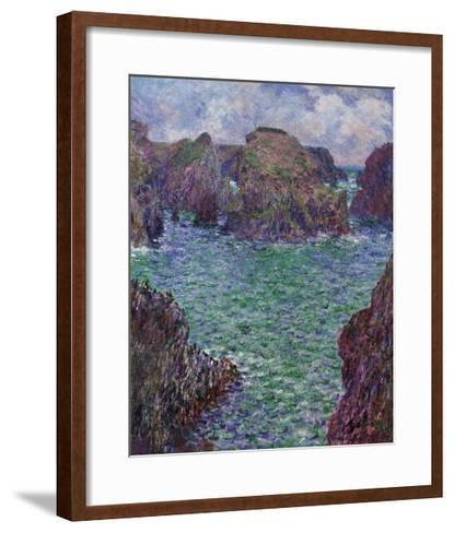 Port-Goulphar, Belle-Ile, 1887-Claude Monet-Framed Art Print